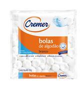 ALGODÃO BOLAS CREMER 50GRAMAS