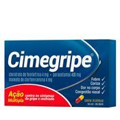 CIMEGRIPE COM 20 CÁPSULAS