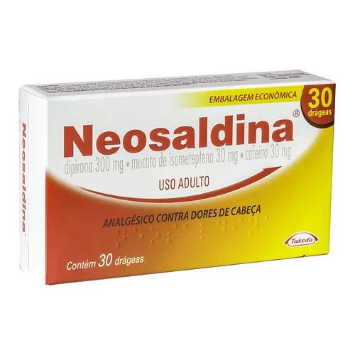 NEOSALDINA COM 30 DRÁGEAS