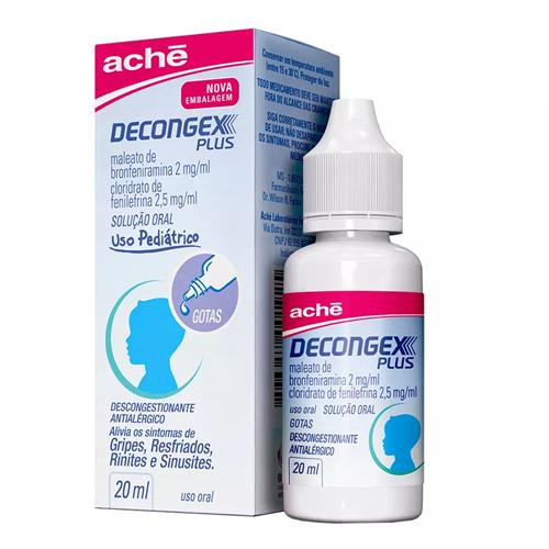 DECONGEX PLUS GOTAS 20ML